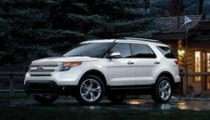 The Explorer Limited in White Platinum Metallic... Ford is my first love