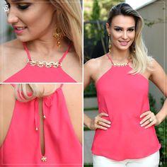 Look Eva Bella | Blusa Pink | Primavera Verão 2015 | www.evabella.com.br