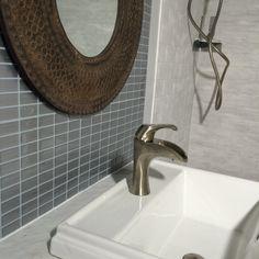Backsplash Ideas | Smart Tiles Stainless (from client)