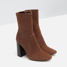 bae25de164d LEATHER HIGH HEEL ANKLE BOOTS-SPECIAL PRICES-WOMAN