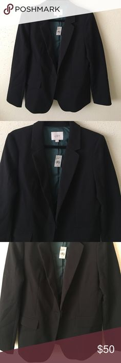 NWT Ann Taylor Loft blazer NWT never worn. Bought for my mom a while ago but too big on her hence why I'm letting it go. Single button. Reasonable offers accepted. Ann Taylor Jackets & Coats Blazers