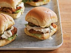 Pretzel-Mustard-Crusted Pork Tenderloin Sliders recipe from Food Network Kitchen via Food Network