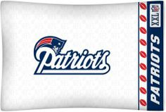 NFL New England Patriots Pillow Case Logo by Sports Coverage. $11.29. NFL New England Patriots Pillow Case Logo. Sports Coverage NFL New England Patriots Pillow Case Logo. Save 72%!