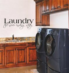 Laundry the Never Ending Story wall saying vinyl lettering home decor decal Wall Sayings Vinyl Lettering http://www.amazon.com/dp/B008DGOSWY/ref=cm_sw_r_pi_dp_B2glvb19GPHCW