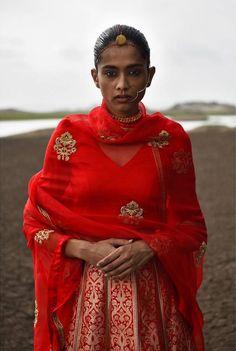 By Raw Mango. Bridelan - Personal shopper & style consultants for Indian/NRI weddings, website www.bridelan.com #Raw Mango #SanjayGarg #BanarasiLehenga #IndianBride #IndianWeddings #BridalOutfits #IndianDesigner #SanjayGargFestive2016 #weddinglehenga #Bridelan #BridelanIndia