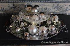 New Year's Eve Centerpiece Glam! - By Goodwill Home Decor Expert Merri Cvetan