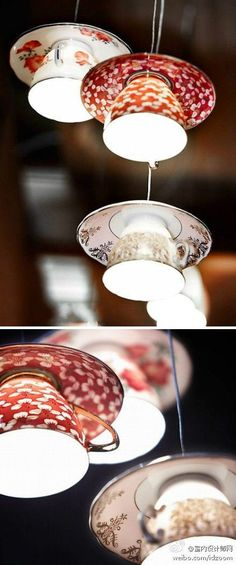 Suspension luminaire porcelaine