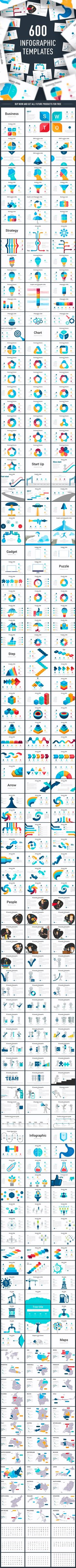 Pack #infographic slides - FREE update - #Creative #PowerPoint Templates Download here:  https://graphicriver.net/item/pack-infographic-slides-free-update/20109117?ref=alena994