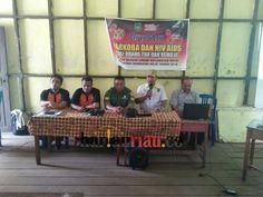 Masyarakat Desa Sungai Lokan Ikuti Penyuluhan Narkoba dan HIV/AIDS