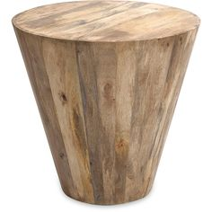 Fabiola Wood Accent Table ($325) ❤ liked on Polyvore featuring home, furniture, tables, accent tables, wood accent table and wood plank table