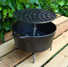 Charming Hibachi Table Top Grill From Creative Metal Grills On Etsy. Https://www