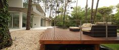 Image result for outdoor room for deck in forest