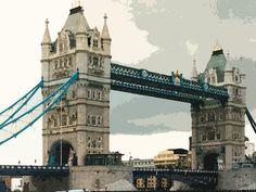 'Tower Bridge London' von Dirk h. Wendt bei artflakes.com als Poster oder Kunstdruck $18.03