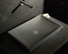 Vasque - Évier en pierre DUNE pour salle de bain à poser ou ...