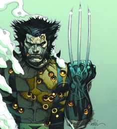 Cool as, Wolverine by Lenil Yu Marvel Comics Art