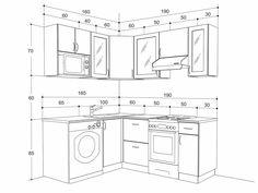 высота кухонных шкафов - Поиск в Google