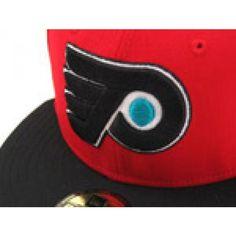 Philadelphia Flyers (RED/BLACK) bringing fitted back