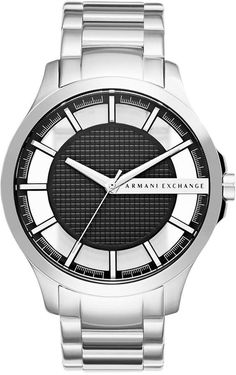Armani Exchange Men s Stainless Steel Bracelet Watch 46mm AX2179 Armani  Watches fa29b4f4b6