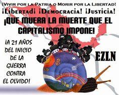 A 21 AÑOS DEL LEVANTAMIENTO ZAPATISTA DE 1994, LA UTOPÍA VIVE. (texto para el diálogo y el debate)