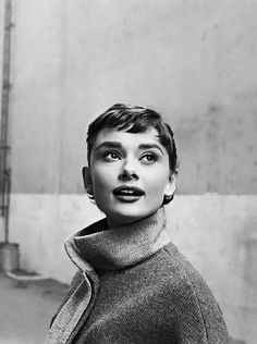 Audrey by Sam Shaw in 1954.