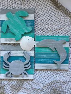 Sea Turtle Beach Wall Art Coastal Decor - Home Decor Ideas Beach Cottage Style, Coastal Cottage, Beach House Decor, Coastal Style, Coastal Decor, Modern Coastal, Aqua Decor, Coastal Interior, Lake Cottage