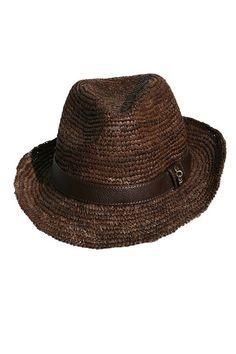Dark Brown Hat Cameron