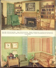 1939 The Home Decorator And Color Guide. Vintage Interior DesignVintage ...