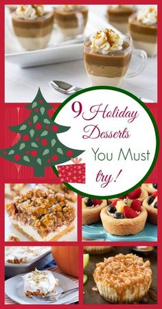 9 Holiday Desserts Y
