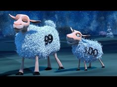 [Short Film] - The Counting Sheep Pixar Short Movies, Cartoon Movies, Short Films, Funny Videos For Kids, Kids Videos, Funny Kids, Short Film Stories, Pixar Shorts, Funny Sheep
