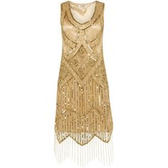 charleston dress gold - Hledat Googlem