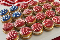 You're going to want to salute these delicious treats. NILLA Flag Bites are perfect for any All-American celebration!