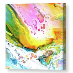 Acrylic pouring on canvas Canvas Prints, Framed Prints, Art Prints, All Wall, Acrylic Pouring, Unique Art, Fine Art America, Wall Art, Abstract