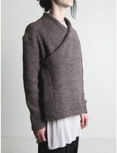 Damir Doma    nifty sweater, don't know if it's wearable for women with boobs.