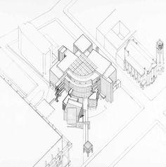 Richard Meier & Partners Architects LLP, HIGH MUSEUM OF ART (Atlanta, Georgia   USA, 1980-1983)