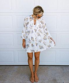 Retro Print Swing Tunic styled by abbycoyle on #fpme #freepeople