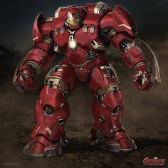 ArtStation - Age of Ultron Hulkbuster, Josh Nizzi