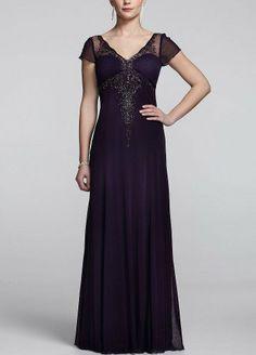 Long Cap Sleeve Dress with Beaded Embellishment Purple David's Bridal,http://www.amazon.com/dp/B00BHY3ECO/ref=cm_sw_r_pi_dp_-xlstb1JPF4YNNYV