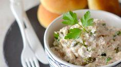 Dip / tartinade à la brousse, thon, câpres & persil.