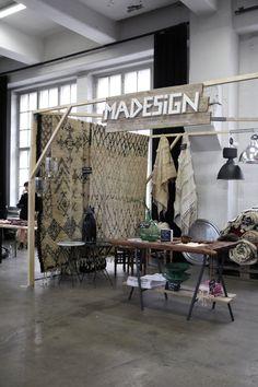 Cloth walls at DESIGN MARKET 2014