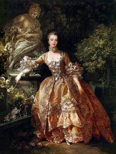 François Boucher, Madame de Pompadour, 1759.