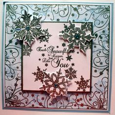 Fairies,Trees,Butterflies and Snowflakes Holiday Cards, Christmas Cards, Sheena Douglass, Fairy Tree, Create And Craft, Snowflakes, Decorative Boxes, Paper Crafts, Butterfly