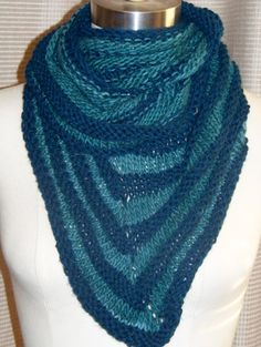 Bandit striped infinity scarf on Etsy, $75.00
