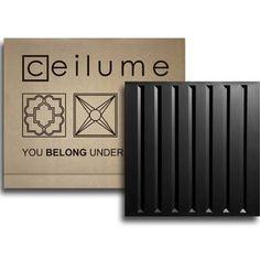 2x2 Southland 25/Case, Black Ceilume Ceiling Tiles (Covers 100 Sq Ft)