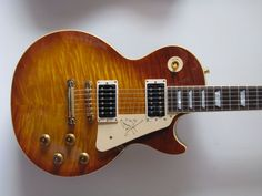 This guitar has the most expensive signature ~ Jimmy Page.