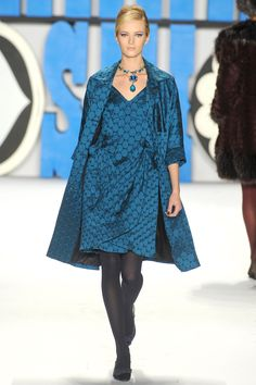Anna Sui Fall 2012 RTW Collection - Fashion on TheCut