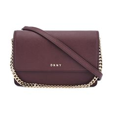 61c4841f6e DKNY Women s Bryant Park Small Flap Crossbody Bag - Oxblood