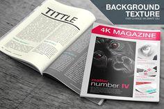 Free 4K Magazine Mockup PSD Template Download File