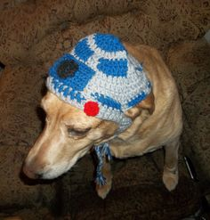 R2-D2+Crochet+Hat+Pattern | Free Princess Leia Crochet Pattern R2 D2 Crochet Dog Hat Yet Another ...