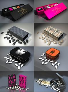 Luxury Chewing Gum Fashion Colllection from Paul Stiven.