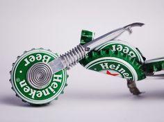 Heineken Redneck Chopper amantes de la por RedneckTraysures en Etsy